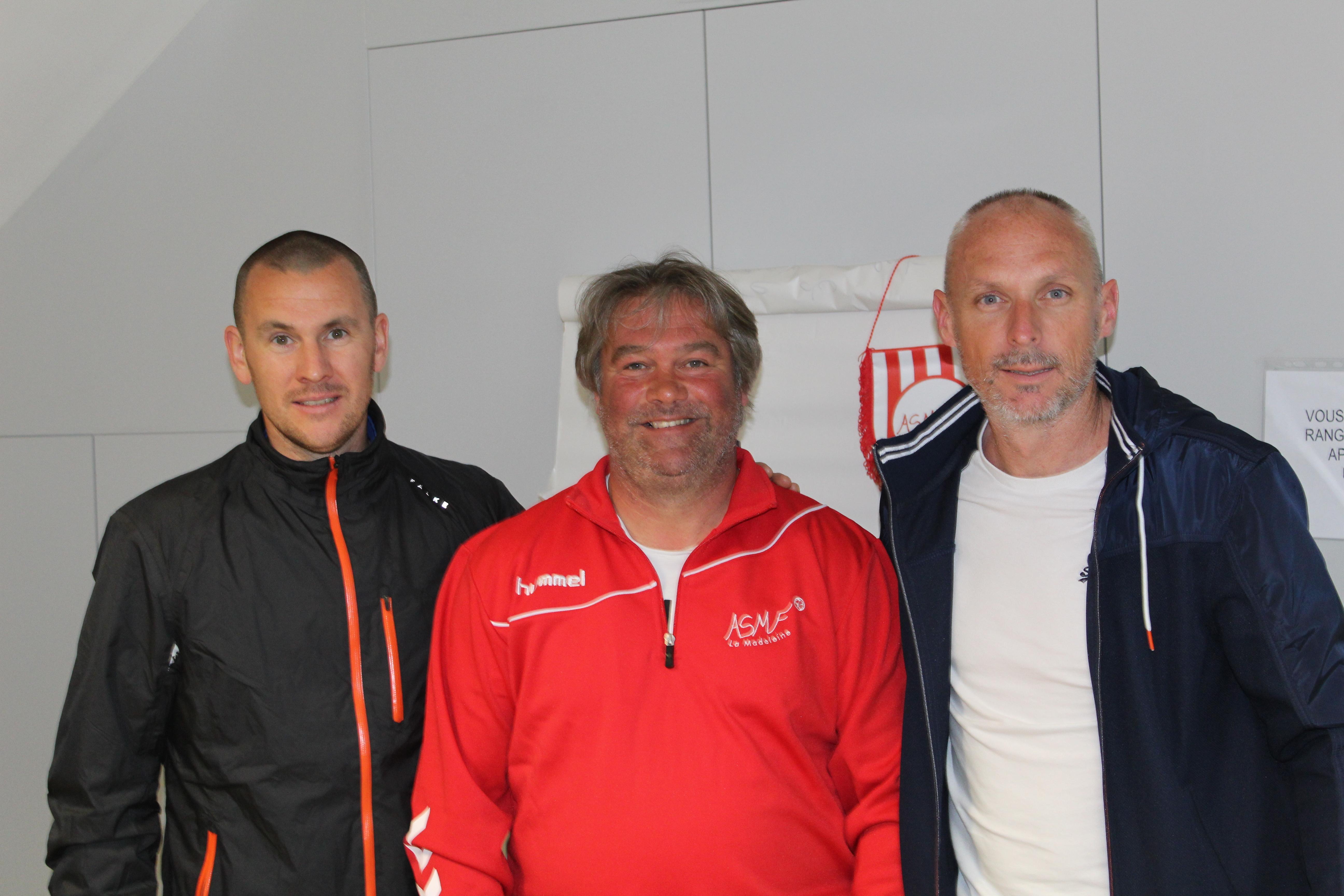 Frédéric Bideau nouvel entraîneur des seniors